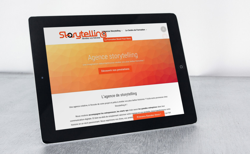 Web Design Storytelling